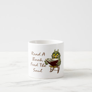 Books Feed The Soul Wise Owl Espresso Cup