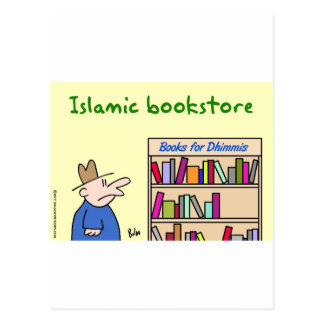 books for dhimmis islamic bookstore post cards