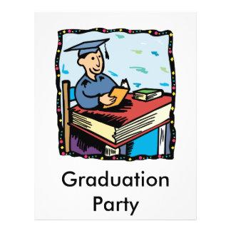 Books for Graduation Custom Flyer