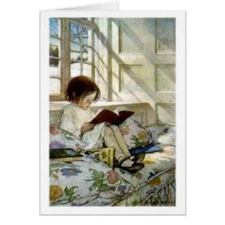 """""""Books in Winter"""" - Card"""