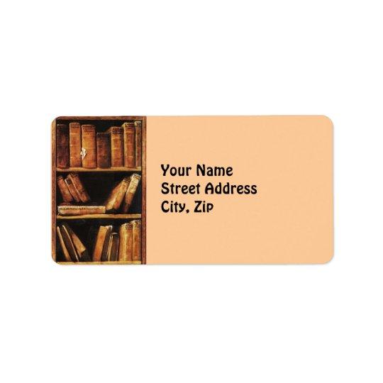 Books Label
