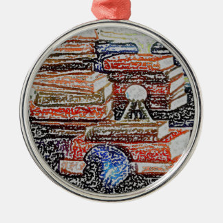 Books Learning Reading Teaching Education Christmas Ornament