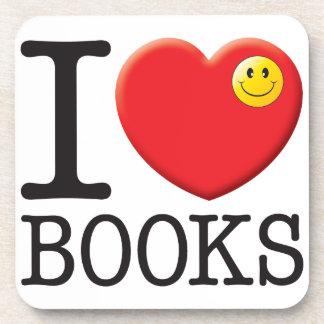 Books Love Coasters