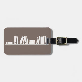 Books lovers! luggage tag