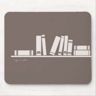 Books lovers mouse pads