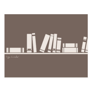 Books lovers! postcard