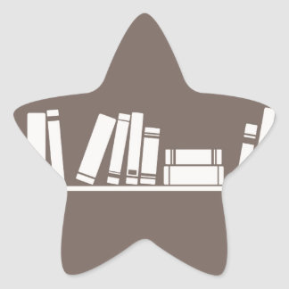 Books lovers! star sticker