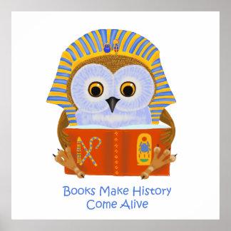 Books Make History Come Alive Poster