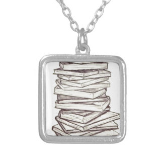 Books Necklace