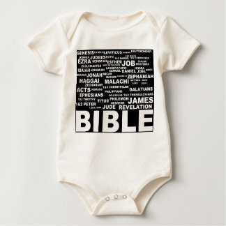 books of the bible for kids baby bodysuit