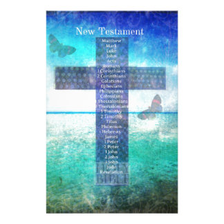 Books of the Bible from the New Testament Personalised Stationery