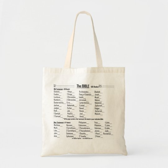Books of the BIBLE  - tote bag