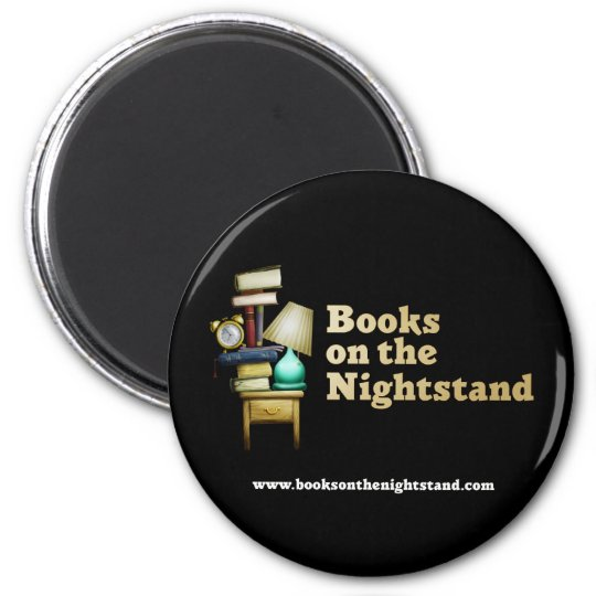 Books on the Nightstand Magnet
