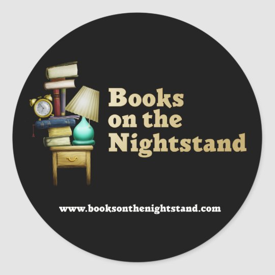 Books on the Nightstand Stickers