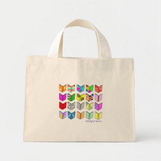 Books! Mini Tote Bag