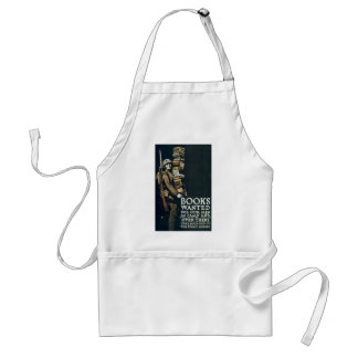 Books Wanted for Our Men Aprons