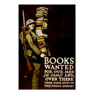 Books Wanted Poster