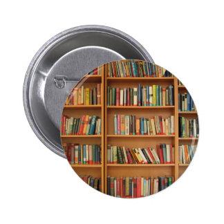 Bookshelf background pins