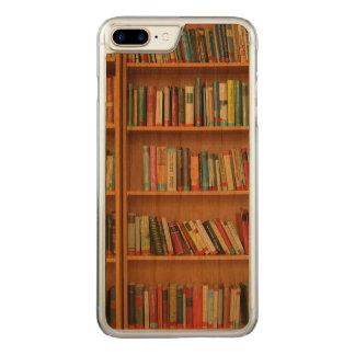 Bookshelf background carved iPhone 8 plus/7 plus case