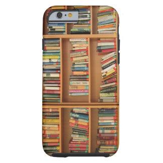 Bookshelf background tough iPhone 6 case