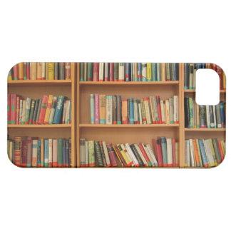 Bookshelf background iPhone 5 cover