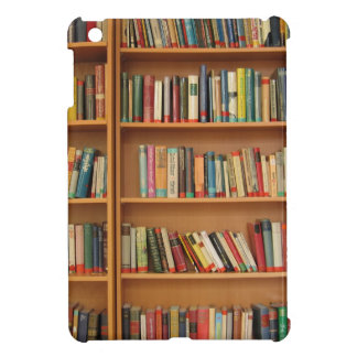 Bookshelf background iPad mini covers
