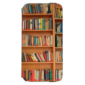 Bookshelf Books Library Bookworm Reading Incipio Watson™ iPhone 6 Wallet Case