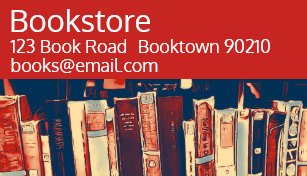 Book shop business cards zazzle uk bookshop bookstore or online books business card reheart Image collections