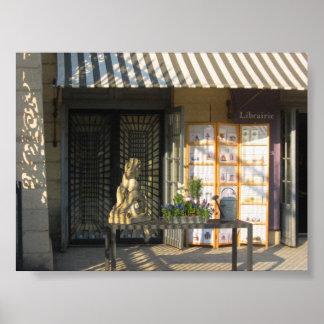 Bookshop in Paris Poster