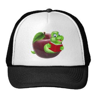 Bookworm concept cap