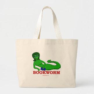 Bookworm Girl Tote Bag