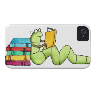 Bookworm iPhone 4 Cases