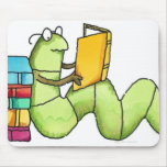 Bookworm Mouse Pad