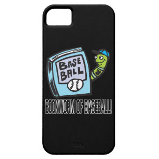 Bookworm Of Baseball iPhone 5 Cover