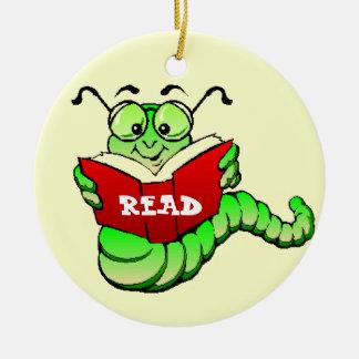 Bookworm Ornament