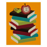 Bookworm Posters