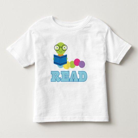 Bookworm Read Toddler T-Shirt