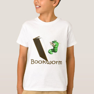 Bookworm T-shirts and Gifts.