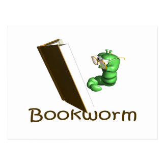 Bookworm T-shirts and Gifts Post Card