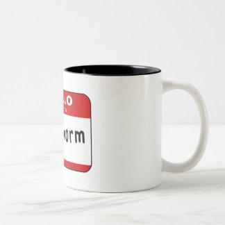 Bookworm Two-Tone Mug
