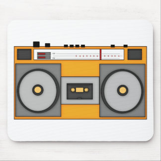 Boom Boom Boombox Mouse Pad
