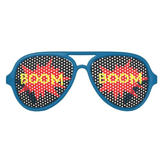 a58a5ffd4f Boom Boom Funny Party Comic Glasses