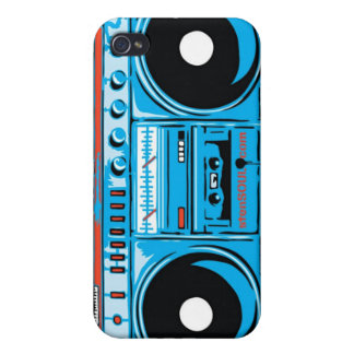 Boom Box EYEPhone 4 Case Case For The iPhone 4