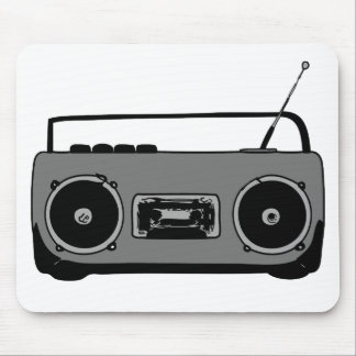 BOOM BOX RADIO CASSETTE PLAYER MOUSE PAD