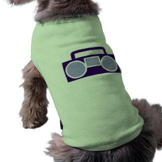 Boom Box Sleeveless Dog Shirt
