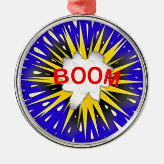 Boom Cartoon Bubble Christmas Ornament