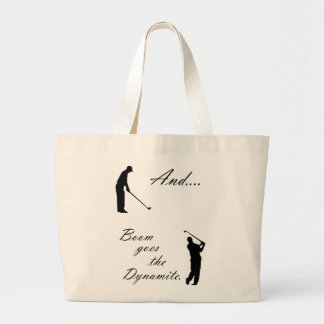 Boom Goes the Golf Dynamite Canvas Bags