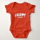 Boom, I Pooped – Baby Body Suit Baby Bodysuit