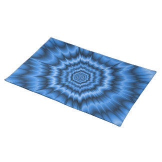 Boom! in Blue Placemats
