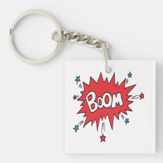 Boom Key Ring